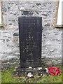 SD3484 : War Memorial, St Anne Haverthwaite: mid February 2015 by Basher Eyre