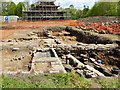 SD7907 : Conservation and Excavation at Radcliffe Tower, May 2015 by David Dixon