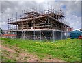 SD7907 : Conservation Work at Radcliffe Tower, May 2015 by David Dixon