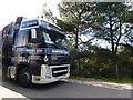 SZ0184 : Enormous great lorry by Bob Harvey
