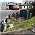 SO6555 : Porthouse Farm Industrial Estate Sewage Pumping Station in Bromyard by Jaggery