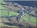 NY2517 : Grange seen from above Blea Crags by Graham Robson