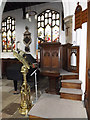 TM1180 : Pulpit & Lectern of St.Mary the Virgin Church by Adrian Cable