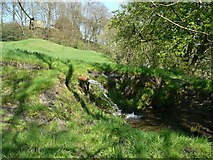 SE0722 : Stream flowing from a pipe, off Goose Pond Lane, Norland by Humphrey Bolton
