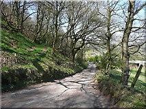 SE0722 : Elland FP2 along North Dean Road, Greetland by Humphrey Bolton