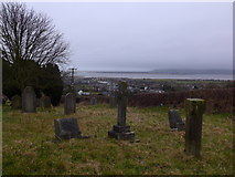 SD2277 : St Michael and All Angels, Ireleth: churchyard (1) by Basher Eyre