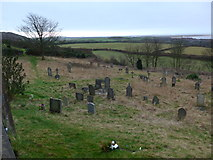 SD2277 : St Michael and All Angels, Ireleth: churchyard (3) by Basher Eyre