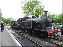 TQ8833 : Bringing engines up at Tenterden Town station by Marathon