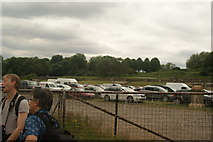 TQ3370 : View of the Crystal Palace terraces from Crystal Palace Park #5 by Robert Lamb