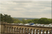 TQ3370 : View of Crystal Palace station and view of the northeast from the Crystal Palace terrace by Robert Lamb