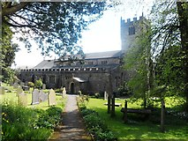 SD6592 : St Andrew's Parish Church - Sedbergh by Anthony Parkes