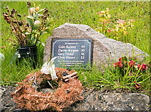 SD4970 : Carnforth station - Tebay accident memorial by The Carlisle Kid