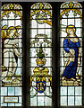 SK7390 : Stained glass window, Ss Peter & Paul church, Gringley on The Hill by J.Hannan-Briggs