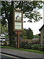 TM1179 : The Thatchers Needle Public House sign by Adrian Cable