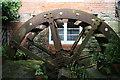 SO4860 : Crowards Mill - waterwheel by Chris Allen