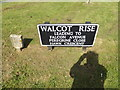 TM1280 : Walcot Rise sign by Adrian Cable