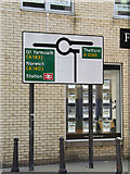 TM1179 : Roadsign on Mere Street by Adrian Cable