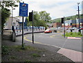SO1609 : Queen Square unsuitable for heavy goods vehicles, Ebbw Vale by Jaggery