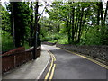 SO1609 : Descent from Queen Square towards The Crescent, Ebbw Vale by Jaggery