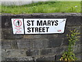 SE3033 : St.Mary's Street sign by Adrian Cable