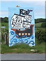 SH7774 : Rali CFfI Eryri YFC Rally sign by Richard Hoare