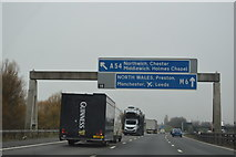 SJ7466 : Junction 18, M6 by N Chadwick