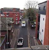 SO8555 : View south from Worcester Foregate Street railway station by Jaggery