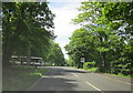 SO9645 : B4084 Turn Left For Pershore College & RHS Centre by Roy Hughes
