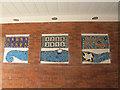 TQ0171 : Magna Carta mosaic, Egham (1) by Stephen Craven