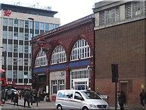 TQ3179 : Lambeth North tube station by Nigel Thompson