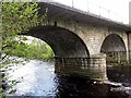 NY7146 : Alston Bridge over River South Tyne by Andrew Curtis