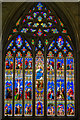 SU8504 : South transept window, Chichester Cathedral by Julian P Guffogg