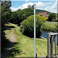 ST0381 : Riverside footpath, Pontyclun by Jaggery