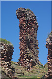 NT6779 : Dunbar Castle by Stephen McKay
