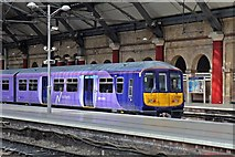 SJ3590 : Northern Electrics Class 319, 319380, platform 2, Liverpool Lime Street railway station by El Pollock