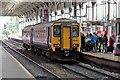 SD5329 : Northern Rail Class 156, 156491, Preston railway station by El Pollock