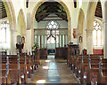 TG3613 : St Mary's church in South Walsham (view east) by Evelyn Simak