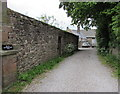 SO5509 : Entrance to Bell's Old Grammar School, Newland by Jaggery