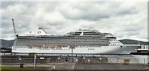 "J3576 : The cruise ship ""Marina"", Belfast - May 2015(1) by Albert Bridge"