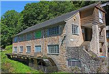 SX7962 : Dartington Mill by Wayland Smith