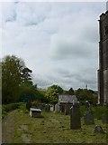 SS6243 : St Thomas, Kentisbury: churchyard (h) by Basher Eyre