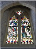 SS6243 : St Thomas, Kentisbury: stained glass window (4) by Basher Eyre