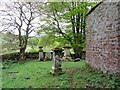 NY7341 : Graveyard, Redwing Chapel by Andrew Curtis
