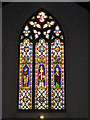 TM0980 : Stained Glass Window of St.Remigius Church by Adrian Cable