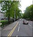 NJ9305 : Albyn Place traffic lights by Stanley Howe