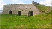 NU1341 : Lime kilns by Sandy Gemmill