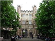 TL4458 : The Great Gate, Trinity College, Cambridge by Anthony Foster