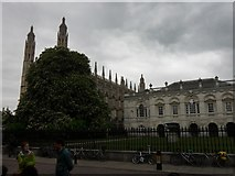 TL4458 : King's College Chapel, Cambridge by Anthony Foster