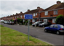SU3521 : Duttons Road south of  Malmesbury Road, Romsey by Jaggery