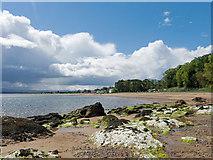 NH7358 : Shoreline at Rosemarkie by Julian Paren
